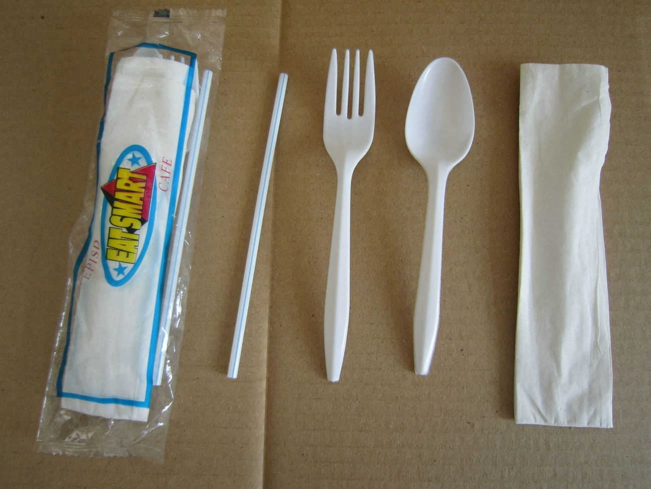 4pcs plastic cutlery kit