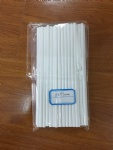 197*6mm paper straws white