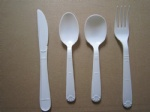 Heavy weight plastic disposable cutlery